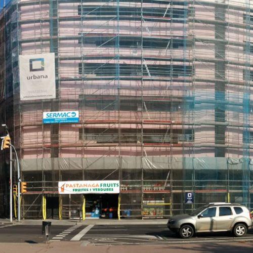 Edificio Apartamentos Barcelona_1