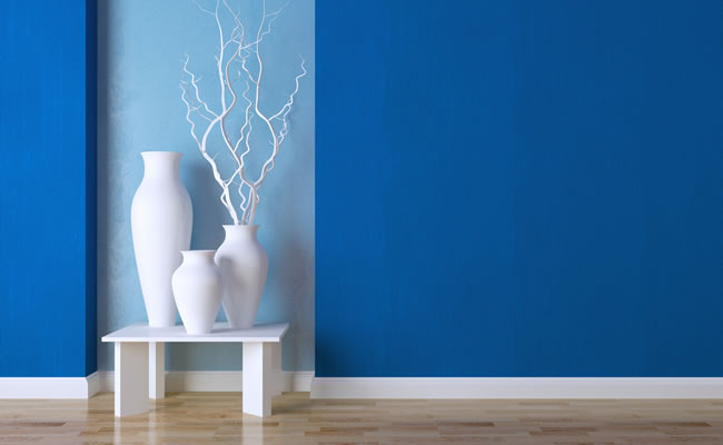 Pintura de interiores en alicante pintura de casas pisos for Pintura azul para interiores